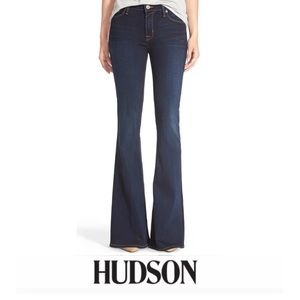 Hudson Jeans Flare Low Rise Jeans